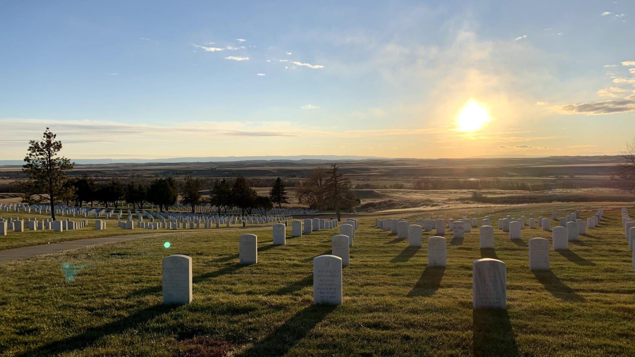 Little_Bighorn_Battlefield_at_Sunset